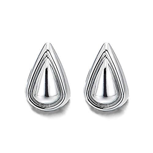 Klein Magnetische Träne Ohrringe Damen Mädchen, Click-on Ohrstecker Fakeplugs Tunnel Gauges, Poliert (Für Ohrringe Magnetische Mädchen)