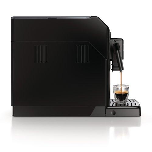 Saeco HD8761/01 Minuto Kaffeevollautomat, klassischer Milchaufschäumer, schwarz - 9