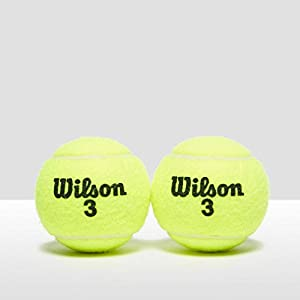 Wilson Tennis Ball-Set, 4 pieces, All Court, Sturdy and Long Lasting Review 2018