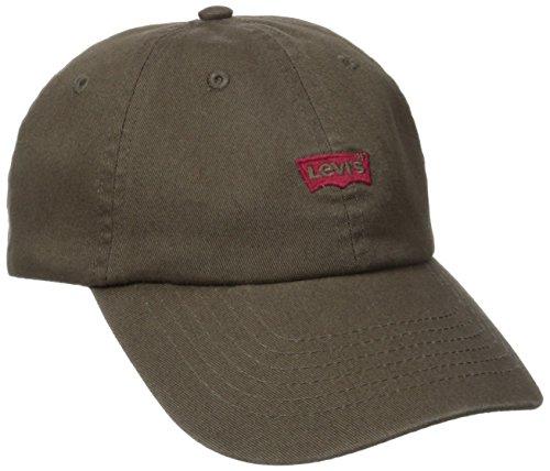 Brushed Twill Hat (Levi's Men's Brushed Twill Baseball Dad Hat)