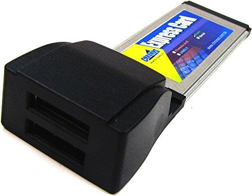 A eSATA ExpressCard Adapter (2-Port 34mm) JM362