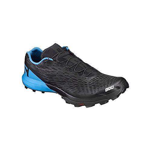 SALOMON S/Lab XA Amphib, Scarpe da Trail Running Unisex-Adulto, Nero (Black/Transcend Blue/Racing Red 000), 46 2/3 EU