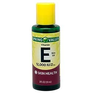Spring Valley - Vitamin E Skin Oil 12000 IU, 2 fl. oz.