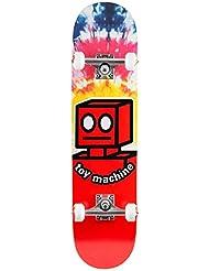 "Toy Machine 'Robot' Complete. Tie Dye. - 7.875""-Width: 7.875"""