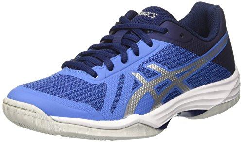 Asics B752N4093, Zapatillas de Voleibol para Mujer, Azul (Regatta Silver/Indigo Blue), 40 EU