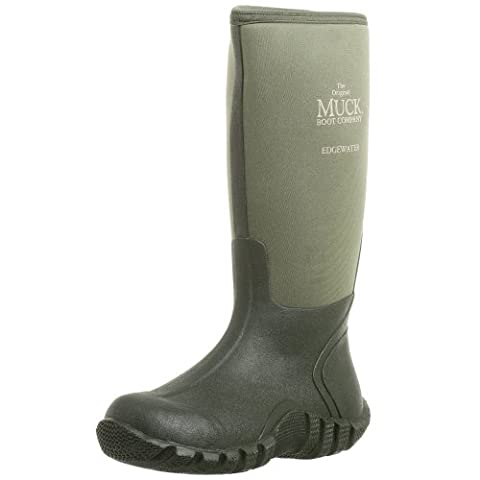 The Original MuckBoots Adult Edgewater Hi Boot,Moss,8 M US Mens/9 M US Womens