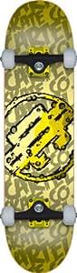 """Cartel Slime Skateboard complet enfant Jaune 7""""5"""