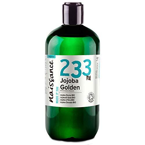 Naissance Aceite Vegetal Jojoba Dorada BIO n. º 233-500ml