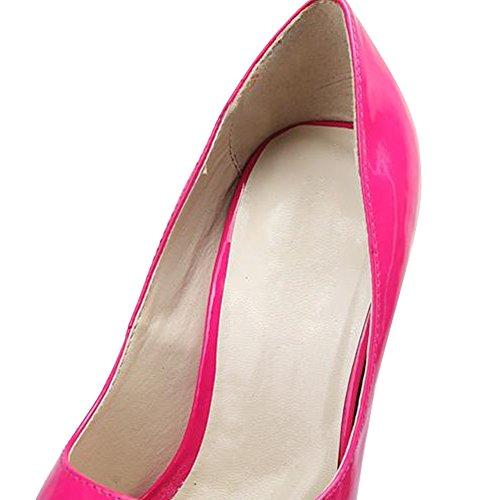 OCHENTA - Scarpe con plateau donna Rosso (Rosso/rosa)