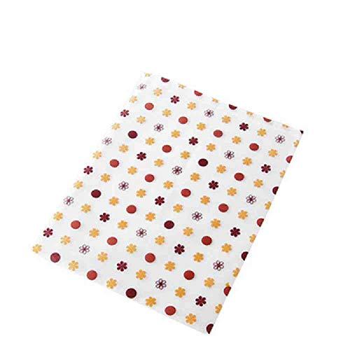 OYHBGK Schönen Stil gedruckt keine Anti-Tuch Kordelzug Kosmetiktasche zeichnen Tasche Lagerung Obst Muster Handtasche Stil Kosmetiktaschen -