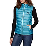 Patagonia W's Down Sweater Vest Chaleco, Mujer, Star Pink, S