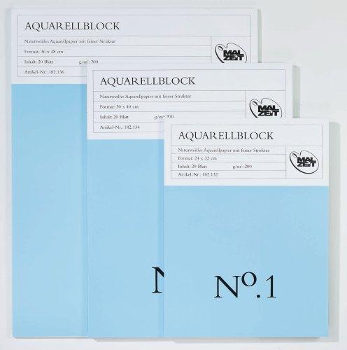 Aquarellblock No.1 (24 x 32 cm)