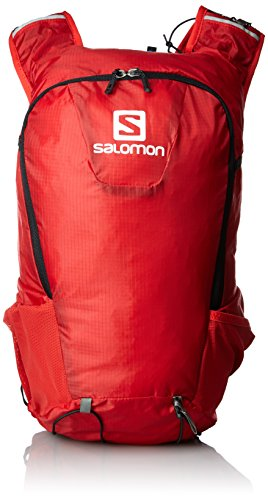 Salomon Rucksack SKIN PRO SET, Bright Red/Black, 40 x 18 x 17 cm, 15 Liter, L37996100 (Iq-ski Alpin)