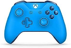 Microsoft - Mando Inalámbrico, Color Azul (Xbox One), Bluetooth