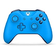Microsoft - Mando Inalámbrico, Color Azul (Xbox One), Bluetooth