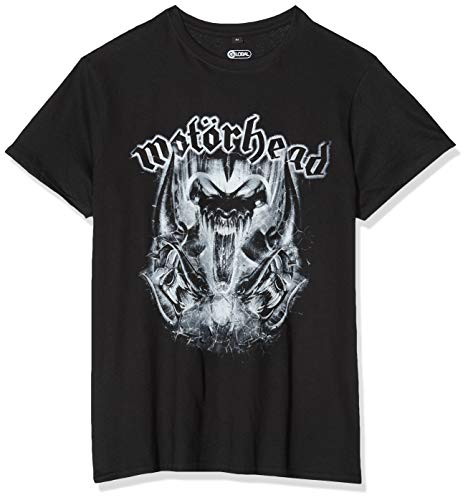 MERCHCODE Motörhead Warpig Camiseta, Hombre, Negro, Extra-Large
