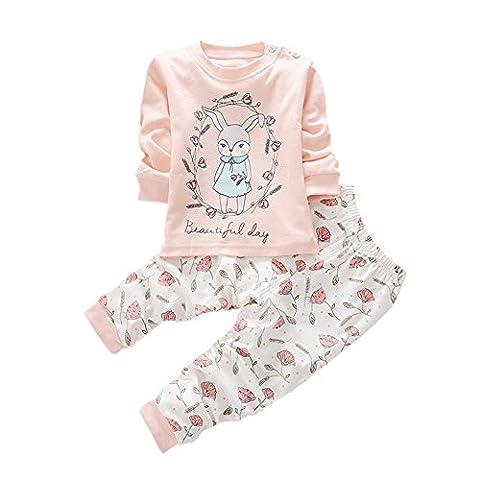 BOBORA Garcons Filles Coton Pyjama Bebe Four Seasons Sous-vetements Ensembles