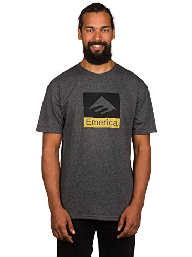 Emerica Herren T-Shirt Combo 10 Charcoal/Heather