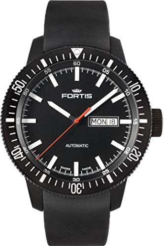 Fortis B-42 Monolith 647.18.31.K Automatic Mens Watch PVD-plated