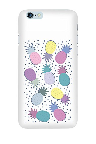 iPhone 4/4S Coque photo - Ananas Parti pourpre