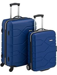 American Tourister Houston City 2 Pc Set A Juegos de maletas, 71 cm, 103 L, Azul (Azul)