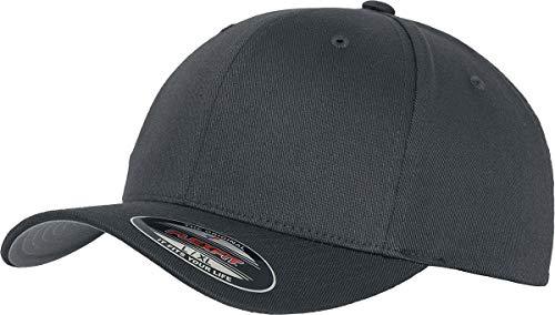 Flexfit Baseball Cap Wooly Combed - Unisex Kappe ohne Verschluss für Herren, Damen und Kinder