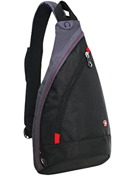 Wenger Mono Sling Bag Accessories, schwarz, 10 liters, SA1092230