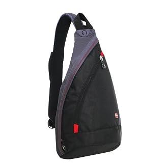 Wenger SA1092230 – Bolso Bandolera (10 L), Color Negro