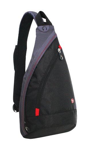 Wenger SA1092230 - Bolso bandolera (10 L), color negro