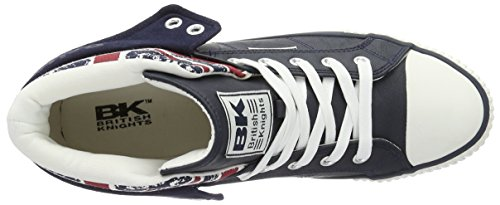 British Knights Roco, Sneakers basses mixte adulte Blau (navy - UNIO JACK)