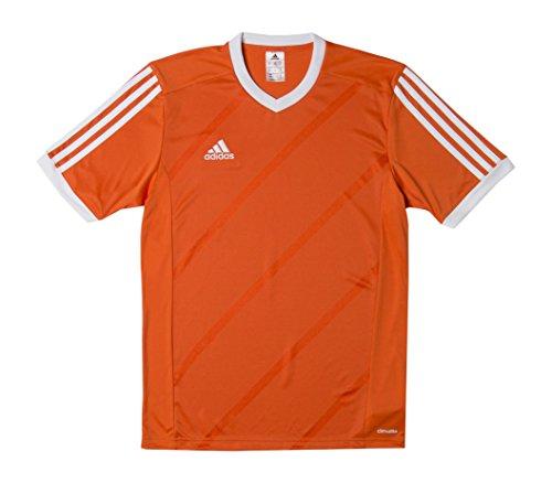 Adidas tabe 14 jsy, maglietta man (football), arancio/bianco, xl