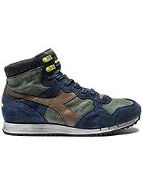 0999ac22734cb 15764001C5007 Diadora Heritage Sneakers Hombre Gamuza Verde