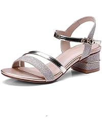 La Rosée-Orteil Chaussures Femmes de L'Or de l'été à l'aide d'audacieuses pour Les Femmes Sandales sont avec Terrasse et D'un Grand Nombre de Chaussures Femmes