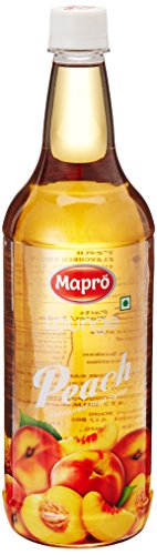 Mapro Peach Flavoured Fruit Syrup, 1l