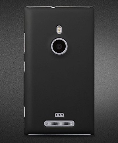 ImagineDesign Rubberised Hard Case For Nokia Lumia 925 (Black)  available at amazon for Rs.169