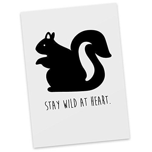 mr-mrs-panda-postkarte-eichhornchen-classic-mit-spruch-100-handmade-handbedruckt-eichhorncheneichhor