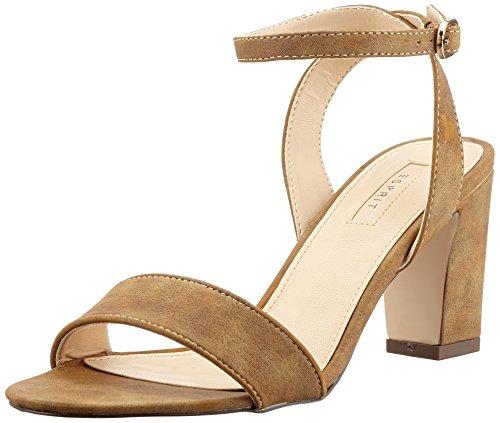 esprit-damen-bless-sandal-offene-braun-225-toffee-41-eu