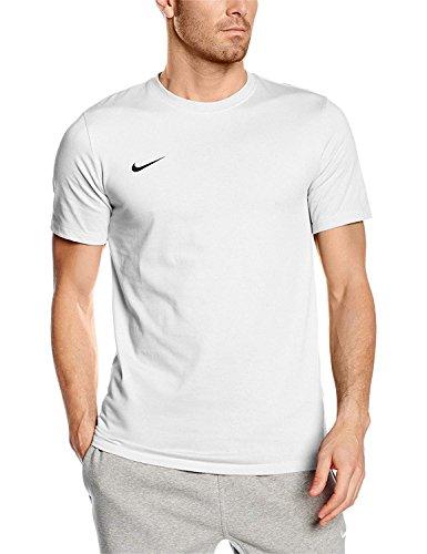 Nike Herren Team Club Blend T-Shirt, White/Black, XL -
