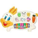 BM Musical Rabbit Educational Piano Keyboard Toy Game For Kids Children-Kids Kart