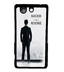 Fuson 2D Printed Quotes Designer back case cover for Sony Xperia Z4 Compact - D4435