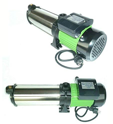 !!Top!! Gartenpumpe Kreiselpumpe INOX HMC10S 2200 Watt Förderhöhe: 110 m Max. Druck: 11 bar Max. Fördermenge: 6600 L/h - 110 L/min.