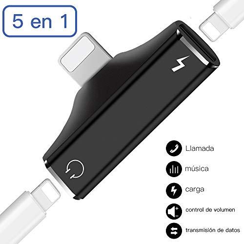 Adaptador Auriculares Compatible i-Phone XS MAX XR