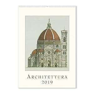 2019 Wall Calendar, Architettura