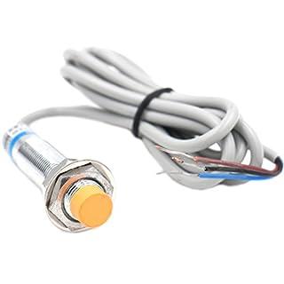 heschen Induktive Näherungsschalter Sensor Switch LJ12A3–4-Z/AY Detektor 4mm 6–36VDC 300mA PNP Normalerweise geschlossen (NC) 3Draht