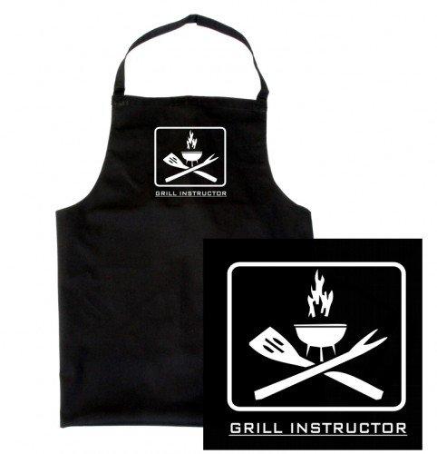 Coole-Fun-T-Shirts 10474 Tablier à barbecue pour homme \\