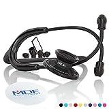MDF® Acoustica Stetoscopio a due testine leggero Deluxe della - Tutto Nero (MDF747XP-BO)