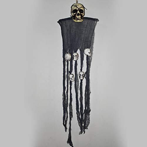 JIBO Horror Decoration Hanging Ghost Halloween Props Haunted House Bar Taro Ornament