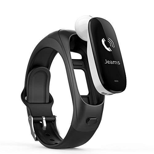 3in1Smart Watch H3-Sports Armband, Bluetooth Wireless Headsets Kopfhörer + Herzfrequenz & Blut Druck Gesundheit Monitor + Fitness Activity Tracker Schritte Zähler SmartWatches für Android & iPhone