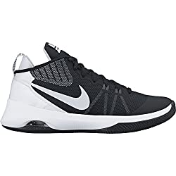 Nike 852431-001, Zapatillas de Baloncesto para Hombre, Negro (Black / Metallic Silver-Dark Grey), 41 EU