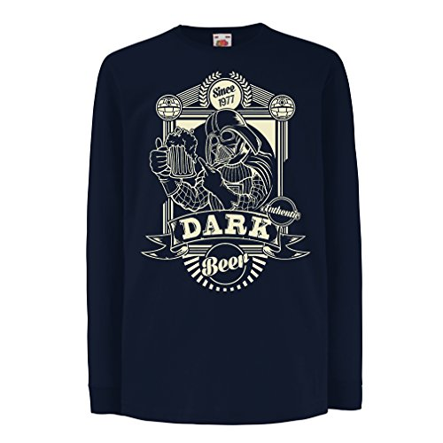 funny-t-shirts-for-kids-long-sleeve-dark-beer-14-15-years-blue-multi-color